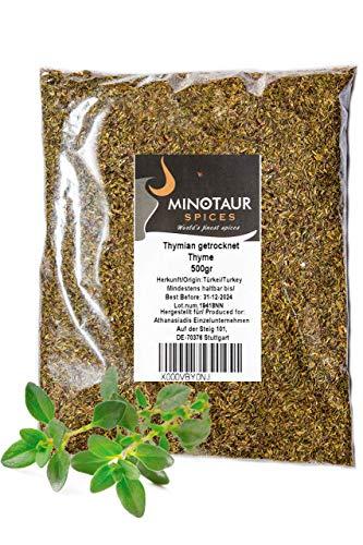 Minotaur Spices | gedroogde tijm | 2 X 500g (1 Kg)