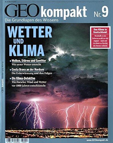 Geo Kompakt Nr. 9  Wetter Und Klima