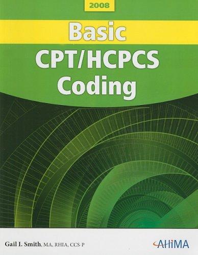 Basic CPT/HCPCS Coding