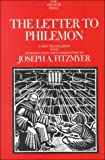 The Letter to Philemon, Joseph A. Fitzmyer, 038549629X