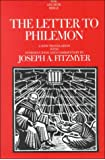 The Letter to Philemon: A New Translation with Introduction and Commentary (Anchor Yale Bible Commentaries)