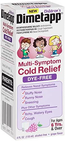Cold & Flu: Children's Dimetapp Cold & Flu Liquid Dye-Free