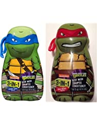 Teenage Mutant Ninja Turtles 3 in 1 Body Wash, Shampoo, Conditioner (2-