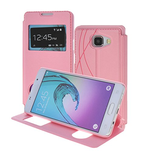 S-View Flip Cover for Samsung Galaxy A5 (Pink) - 6