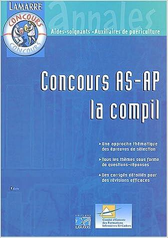 Livres gratuits en ligne Concours AS-AP, la compil pdf
