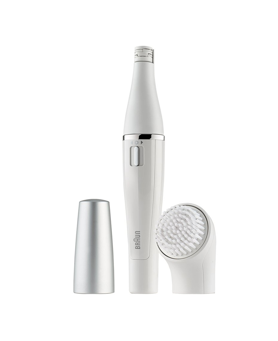 Braun FaceSpa Sistema de cepillo de limpieza y depilación facial: elimina el