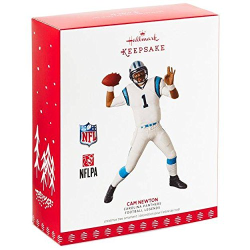Hallmark Keepsake 2017 Football Legends Carolina Panthers Cam Newton Christmas - Mall Stores Carolina In Place