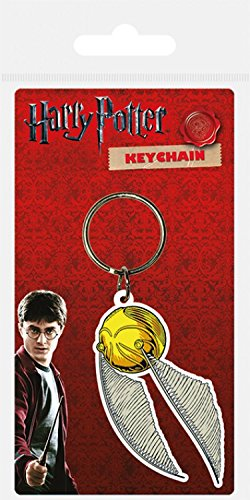 1art1® Harry Potter - Snitch Llavero (6 x 4cm): Amazon.es: Hogar