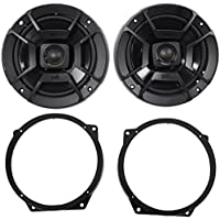 2002-2008 Mini Cooper Polk Audio 6.5 Front Factory Speaker Replacement Kit
