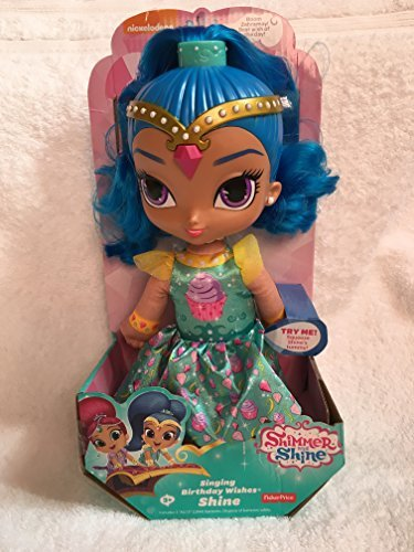 FISHER PRICE SHIMMER AND AND AND SHINE SINGING BIRTHDAY WISHES- SHINE by Shimmer and Shine c9f888