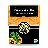 BUDDHA TEAS, Tea, Og1, Papaya Leaf, Pack of 6, Size 18 CT, (100% Organic)