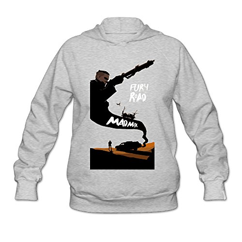 SAMMOI Mad Max Fury Road Men's Athletic Hoodies S Ash