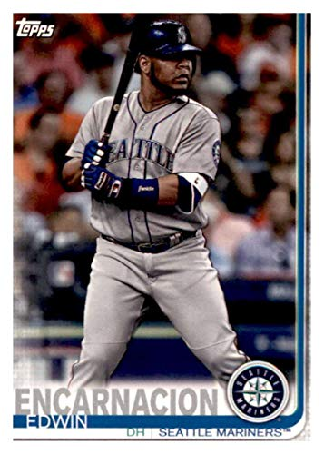 2019 Topps Team Edition Seattle Mariners #SM-9 Edwin Encarnacion Seattle Mariners Baseball Card