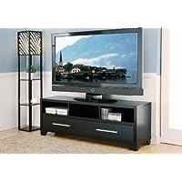 ioHOMES Pleasanton Media/TV Console Stand, 60-Inch, Black Finish
