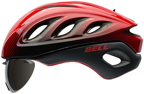 Bell Star Pro Shield Helmet - Red/Black Blur Large