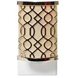 Yankee Candle Latte Fretwork Scent-Plug Air Freshener Base