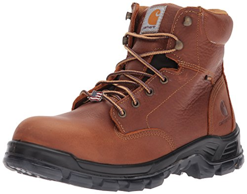 Carhartt Menns Cmz6340 Madeinusa 6 Comptoe Arbeid Boot Brown