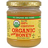 Y.S. Eco Bee Farms 100% Certified Organic Raw Honey 8 oz (226 grams) Paste