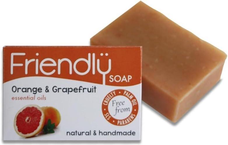 Friendly Soap Natural Handmade Orange & Grapefruit Soap