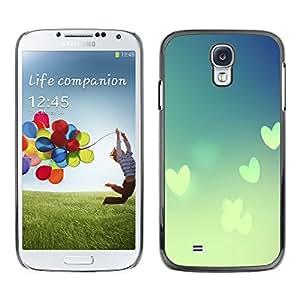 MOBMART Carcasa Funda Case Cover Armor Shell PARA Samsung Galaxy S4 - Love In The Clouds