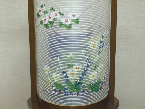 Japanese Lantern Nagomi Large(oak Nagarekiku) #6464