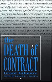 Book The Death of Contract