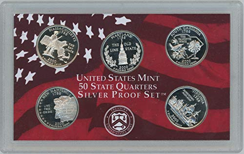 (2000 S Silver State Quarter Set Proof)