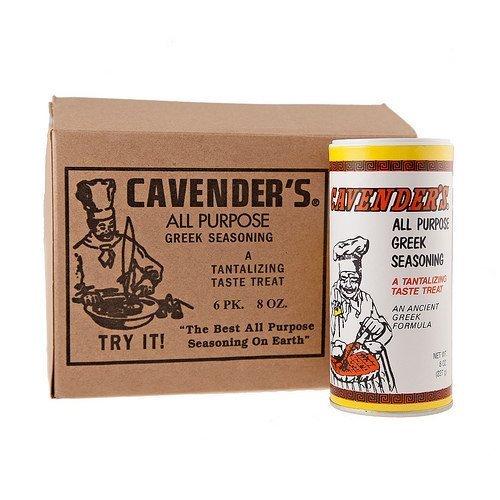 Cavender's Greek Seasoning 8 Oz (Pack of 6) by Cavender's