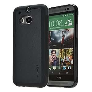 Mulbess Funda HTC One M8 Cuero Silicona TPU Híbrido Suave ...