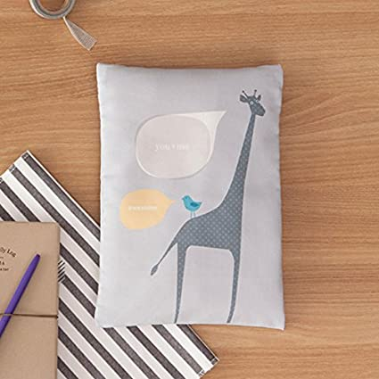 GiraffeGray Diaper Zipper Pouch Designers choice Wet and Dry Baby Diaper Bag Organizer Baby Travel Pouch