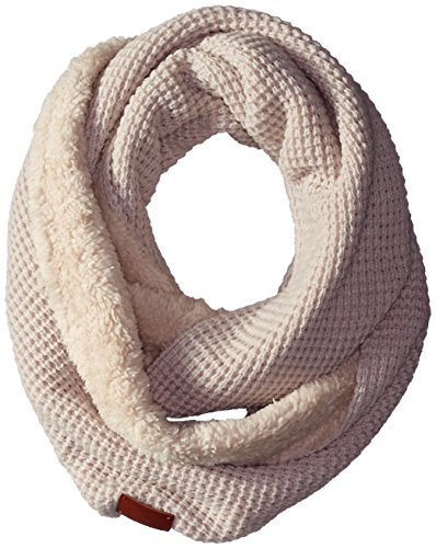 Bickley&Mitchell Women's Waffle Knit Sherpa Lined Infinity Scarf