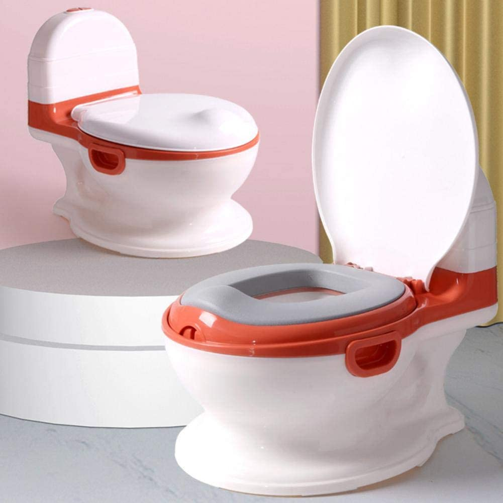 Kindertoilette Kinder Klo Topf Baby Potty Toilet Toilettensitz Kindert/öpfchen Mit Deckel Und Flush Sound F/ür Kinder Jungen M/ädchen 8 Monate-5 Jahre Exuberanter T/öpfchen F/ür Kinder