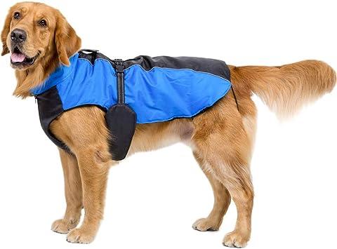 Sunnykud Hundemantel Jacke Winddicht Hund Jacken mit Geschirr Loch Warm Hund Kleidung Mantel Jacke Hundeweste f/ür Kleine Medium Gro/ße Hunde Hundepullover