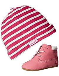 "Timberland Baby Boys' ""Stripe Cap & Booties"" Gift Set"