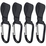 4pack of Stroller Hook- Hook your shopping & bags safely...