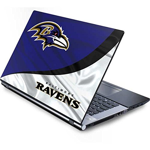 - Skinit Protective Skin (fits latest Generic 17-Inch Laptop/Netbook/Notebook); NFL Baltimore Ravens Logo