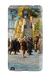 For Galaxy Note 3 Tpu Phone Case Cover(the Hobbit An Unexpected Journey 2)