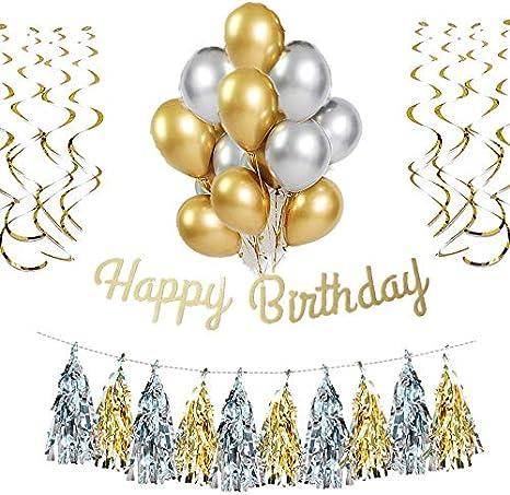 "18 /""globo de la hoja Feliz 60º cumpleaños"