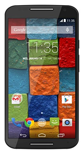 Motorola Moto X 16gb Xt1092 2nd Gen 2014 3g - Soft Black (Sim Free/unlocked) Unlocked Factory Xt1092 (Phone 2014 Moto Unlocked X)