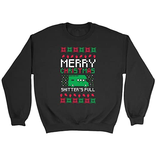 Merry Christmas Shitters Full National Lampoon Funny Gift Ugly