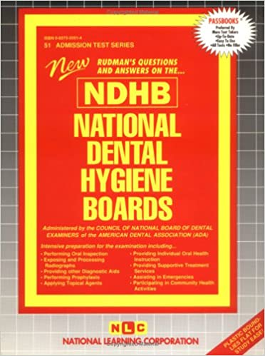 National Dental Hygiene Boards NDHB 9780837350516