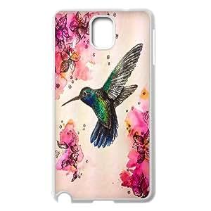 Beautiful & cute bird,Hummingbird Case Cover Best For Samsung Galaxy NOTE4 Case Cover KHRN-T531144
