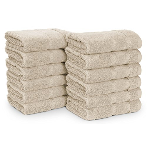 (Nautica Belle Haven Wash Towel Set, 13x13,)