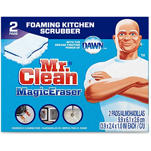 Magic Eraser Kitchen Scrubber, 24 Pads (2 Pads/Box, 12 Boxes/Case), Lot of 1