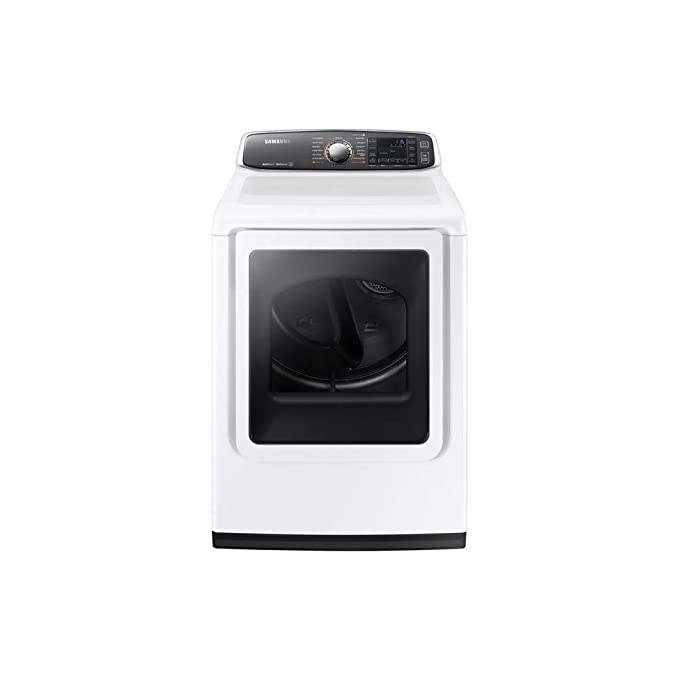 Samsung DV52J8060GW 7.4 Cu. Ft. White With Steam Cycle Gas Dryer - Energy Star best gas dryer