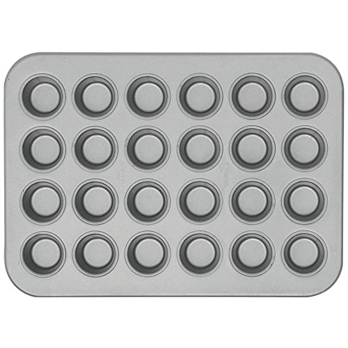 Chicago Metallic 45245 Glazed 24-Cavity Mini-Muffin Pan ()