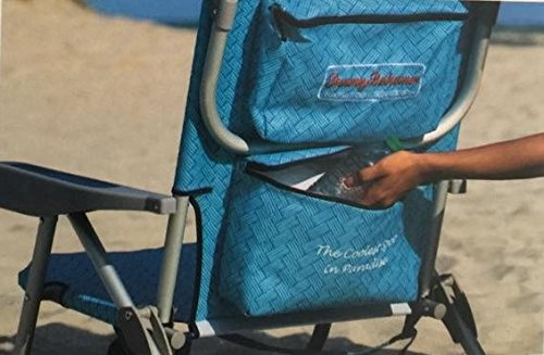2 Tommy Bahama Backpack Beach Chairs/ Light Blue + 1 Medium Tote Bag by Tommy Bahama (Image #6)