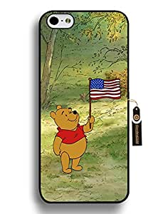 Iphone 6 Plus Funda Trendy, Iphone 6 6S Plus Funda Winnie The Pooh, [Retail Packaging] Skin Back Shell Case Cover for Iphone 6 plus (5.5 Inch)