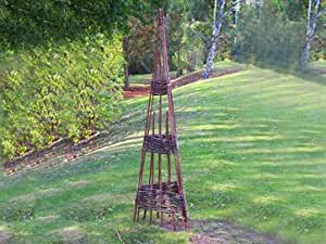 Willow Obelisk 1.5m by Greentree