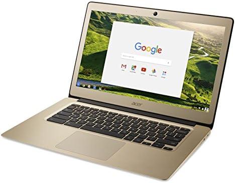 Acer Chromebook 14 Aluminum 14inch Full HD Intel Celeron N3160 4GB LPDDR3 32GB Chrome Gold